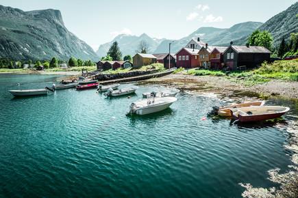Franz Sussbauer, [:] The beach [:] (Norway, Europe)