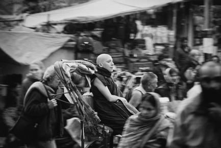 Victoria Knobloch, Nun in Bodhgaya (India, Asia)