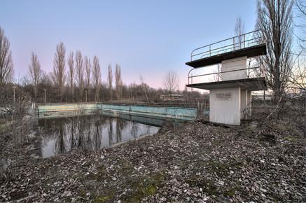 Christian Ditsch, Die Badeanstalt   Public swimming pool (Germany, Europe)