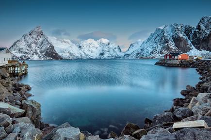 Eva Stadler, Lofoten mountains, Norway (Norway, Europe)
