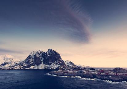 Franz Sussbauer, [:] fishbone cloud [:] (Norway, Europe)