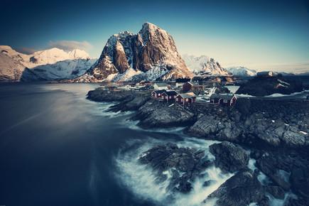 Franz Sussbauer, [:] Hamnøy classic view [:] (Norway, Europe)