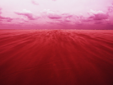 Kay Block, red sand (Netherlands, Europe)