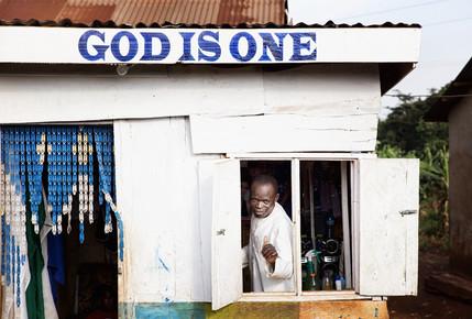 Victoria Knobloch, God is one (Uganda, Africa)