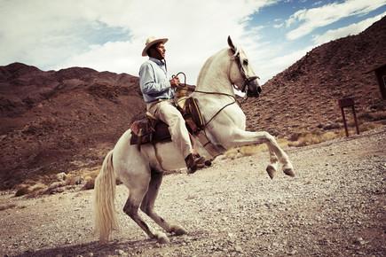 Florian Büttner, cowboy (United States, North America)