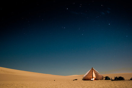 Christian Göran, Desert night (Sudan, Africa)
