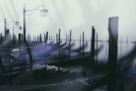 Jürgen Wolf, Gondolas in Venice (Italy, Europe)