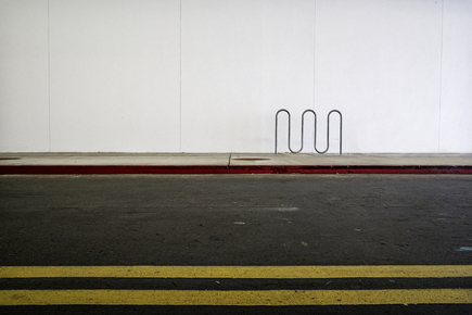 Jeff Seltzer, Bike Rack (at a Mall) (United States, North America)
