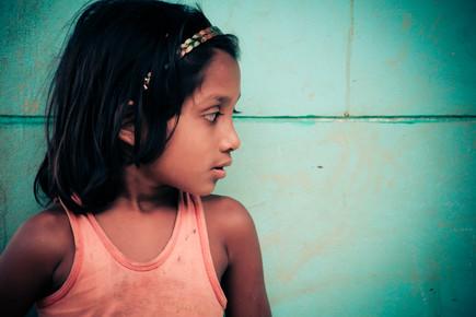 Robinson Crusius, Mädchen aus Bergvolk (Bangladesh, Asia)