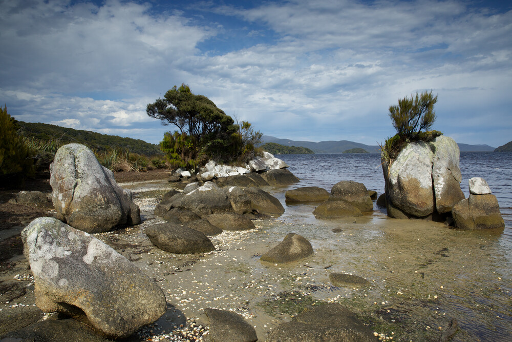 Stefan Blawath Fotokunst - \'Strand, Felsen, und Meer auf Stewart ...
