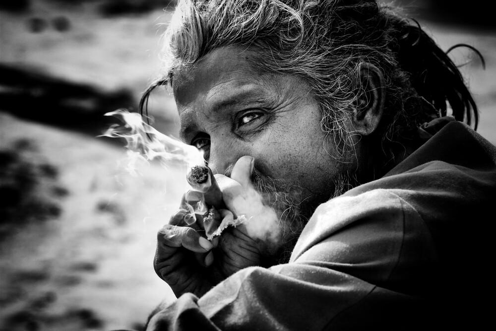 Ein guter Zug - fotokunst von Jagdev Singh