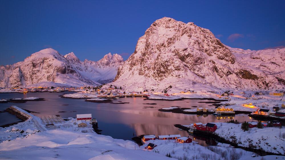 Lofoten Winter Wonderland - Fineart photography by Boris Buschardt