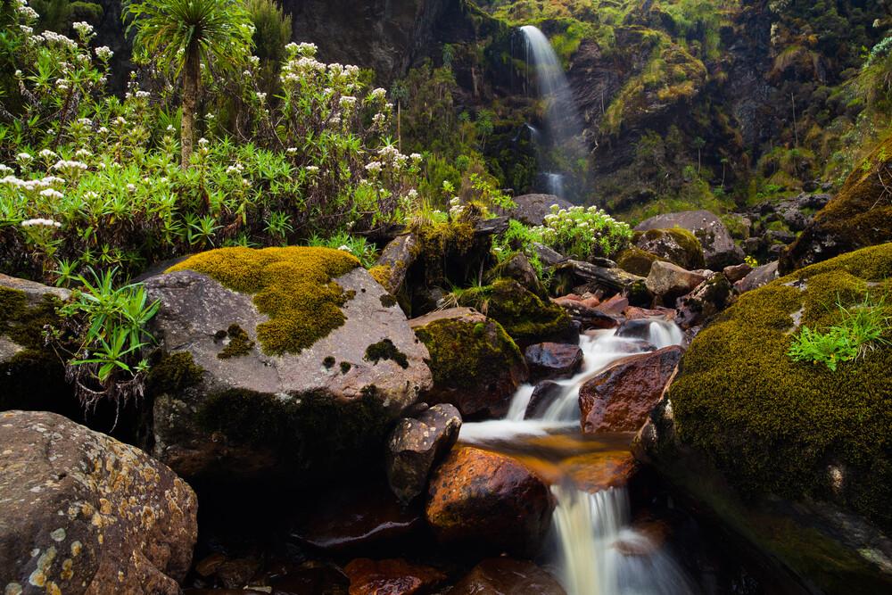 Kawamba Waterfall - Fineart photography by Boris Buschardt