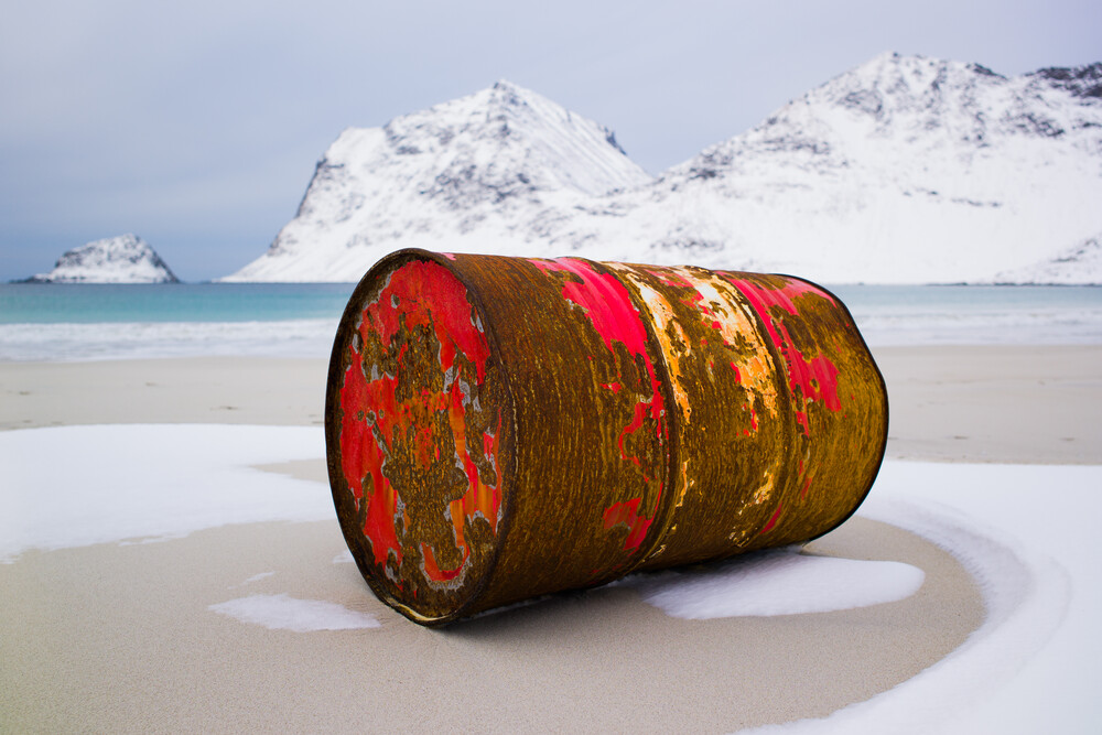 Haukland - fotokunst von Boris Buschardt