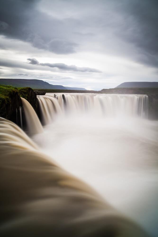 Godafoss waterfall - Fineart photography by Boris Buschardt