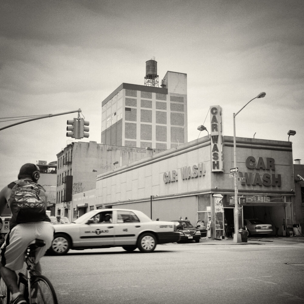 New York City - Car Wash - Fineart photography by Alexander Voss