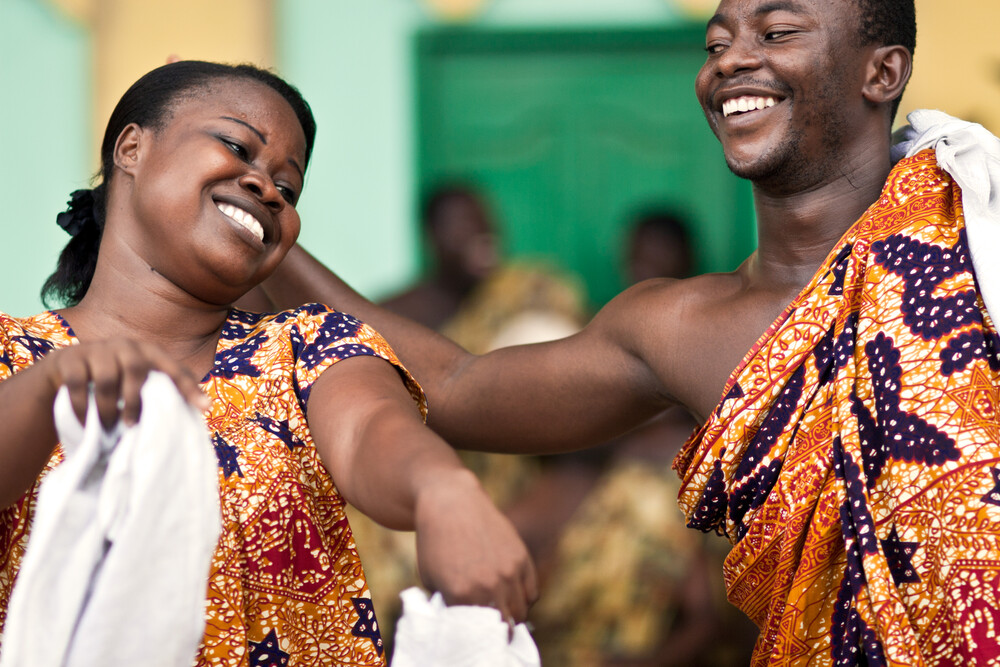 Cultural Group of the Centre for National Culture – Kumasi - Fineart photography by Lucía Arias Ballesteros