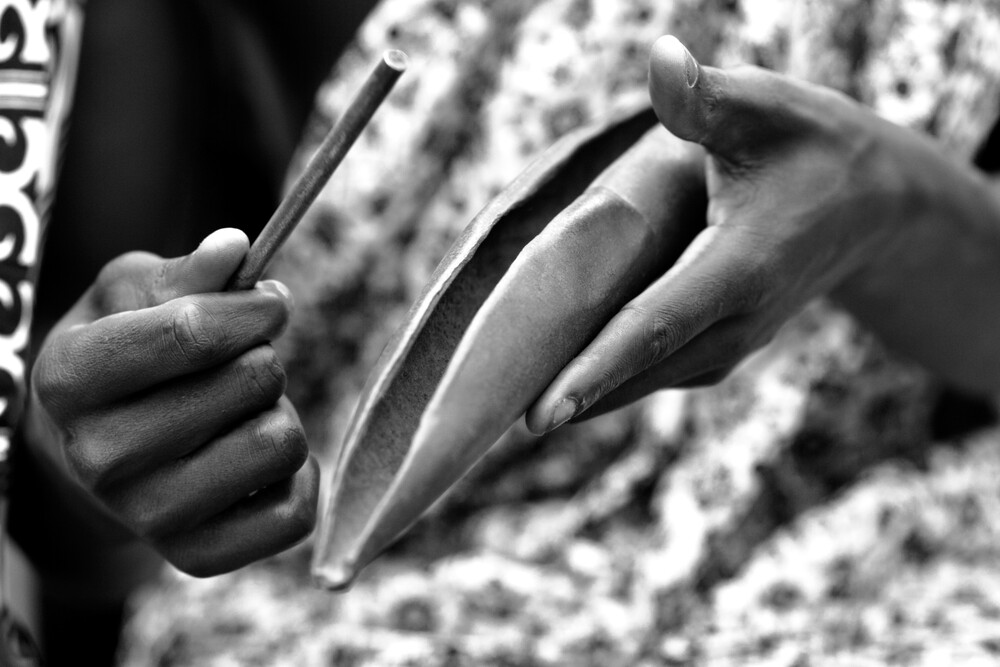Atoke instrument – Ashanti Region - Fineart photography by Lucía Arias Ballesteros