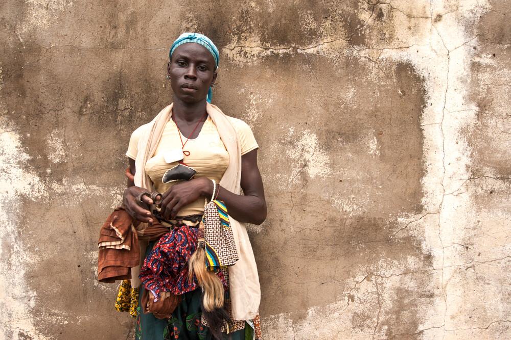 """Bila"" dancer - Kumbungu village,    Northern Region   - Fineart photography by Lucía Arias Ballesteros"