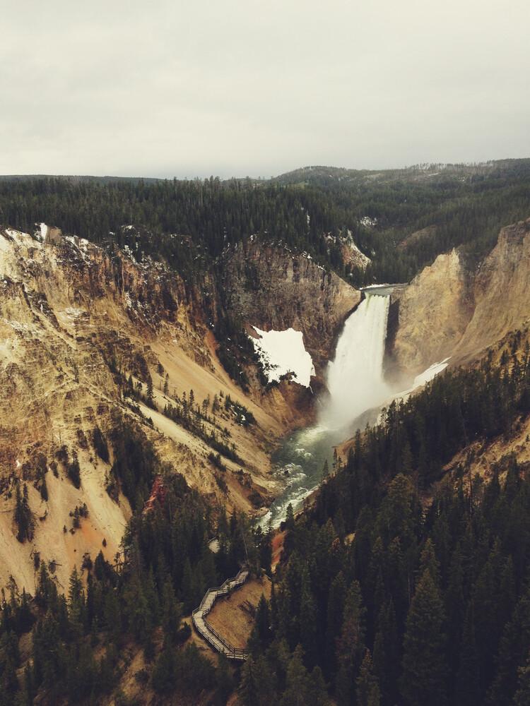 Yellowstone Falls - fotokunst von Kevin Russ