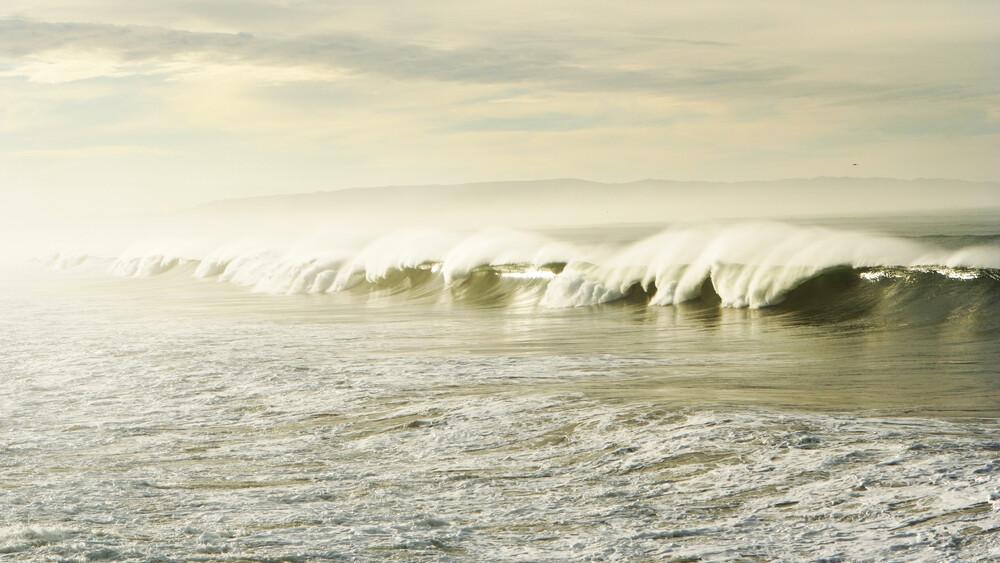Pismo Waves - fotokunst von Kevin Russ