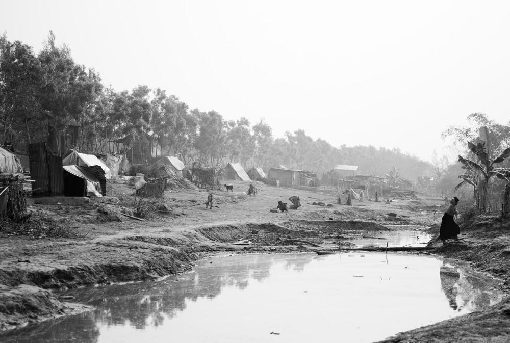 Makeshift homes after the Cyclone - fotokunst von Jakob Berr
