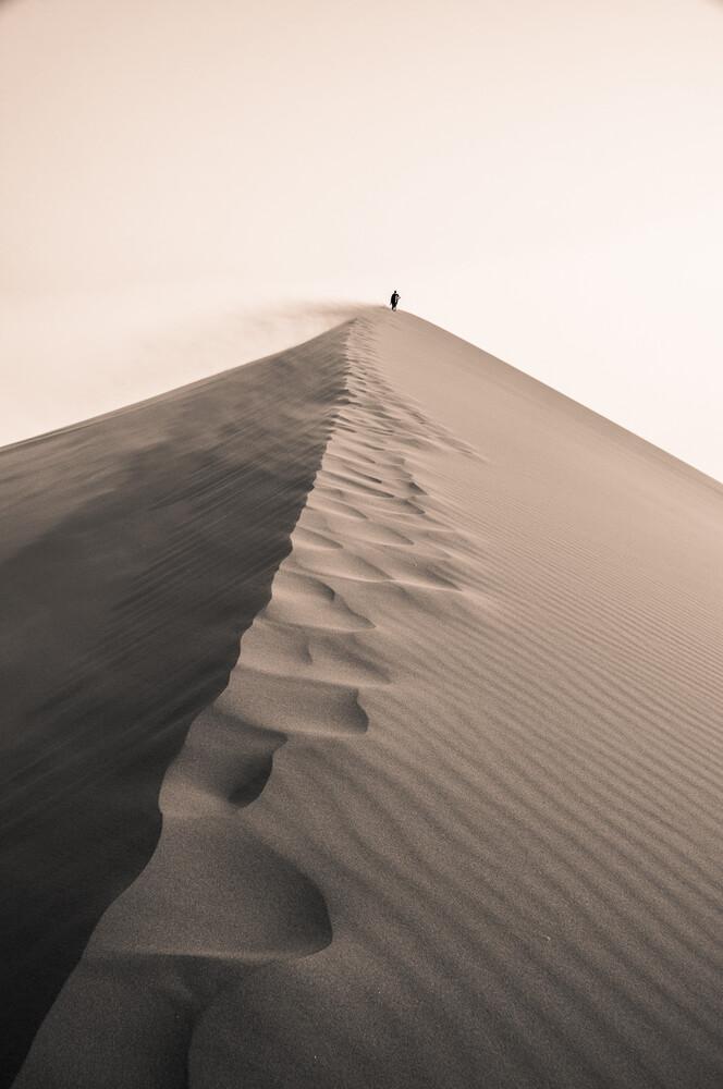 Düne 45 Sossusvlei Namibia - fotokunst von Dennis Wehrmann