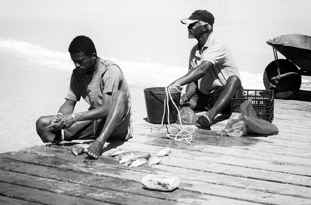 fishermen - fotokunst von Jochen Fischer