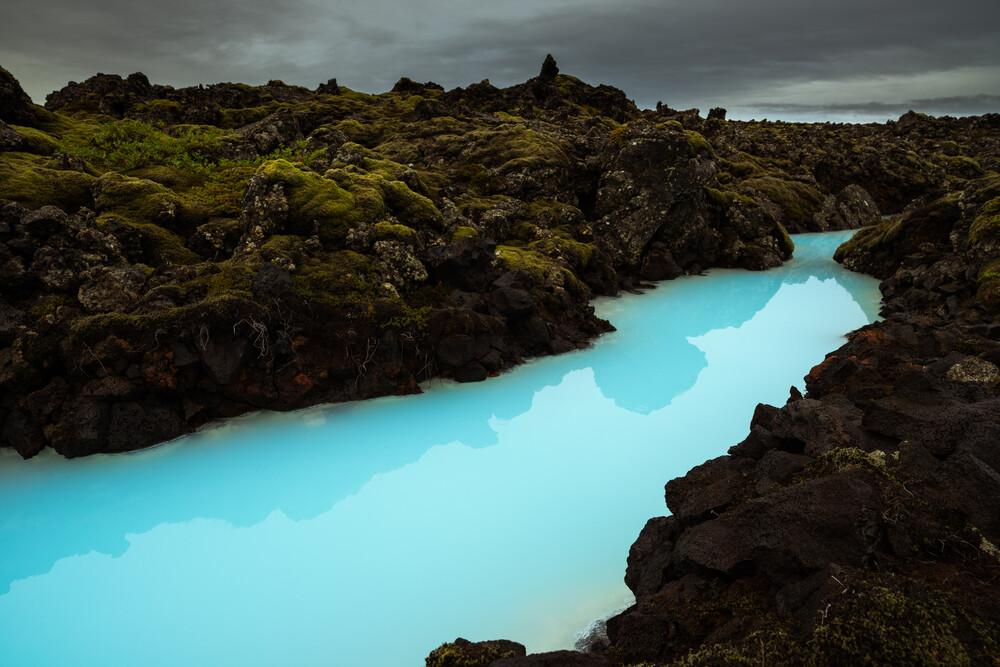 Blue Lagoon - fotokunst von Boris Buschardt