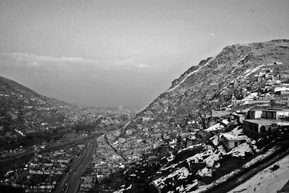 A View of Kabul City - fotokunst von Rada Akbar