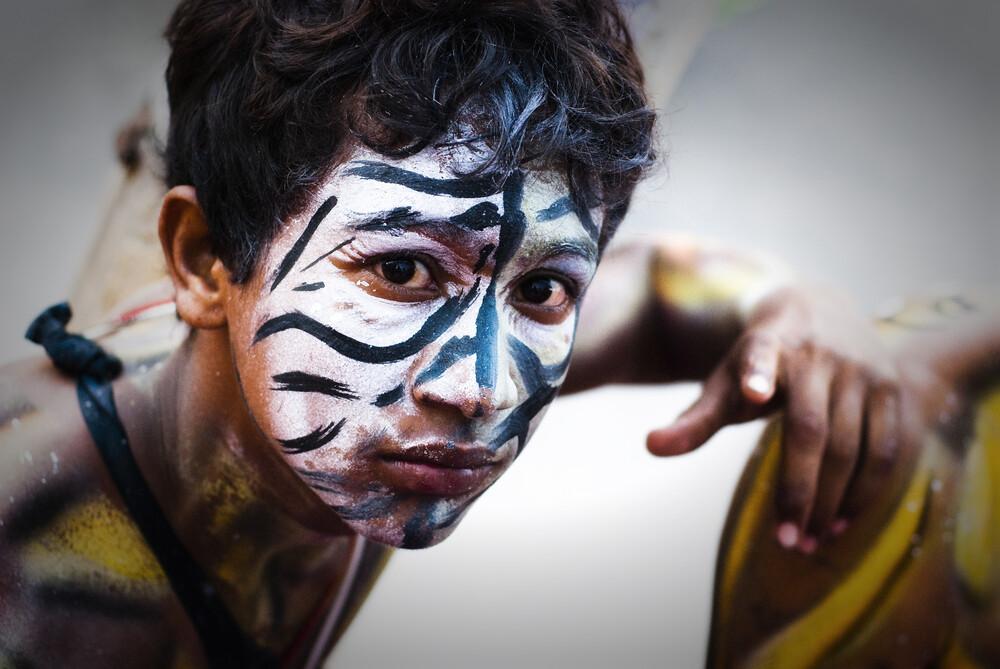 Cara del Carnaval - fotokunst von Manfred Koppensteiner