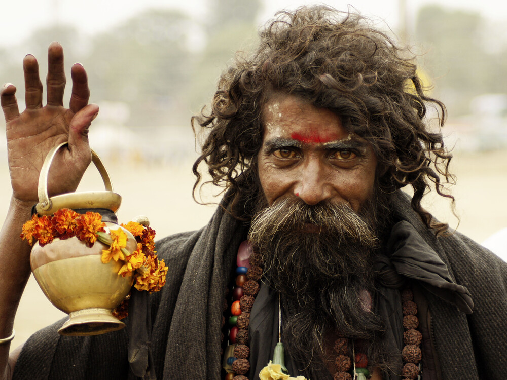 Sadhu - Fineart photography by Phyllis Bauer