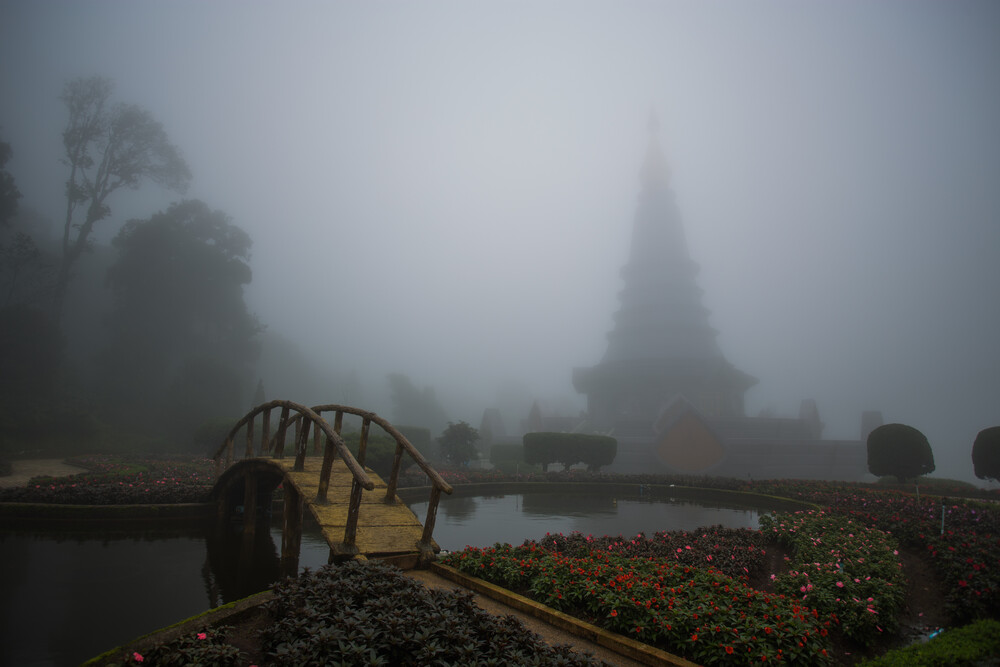 The Mist - fotokunst von Tanapat Funmongkol