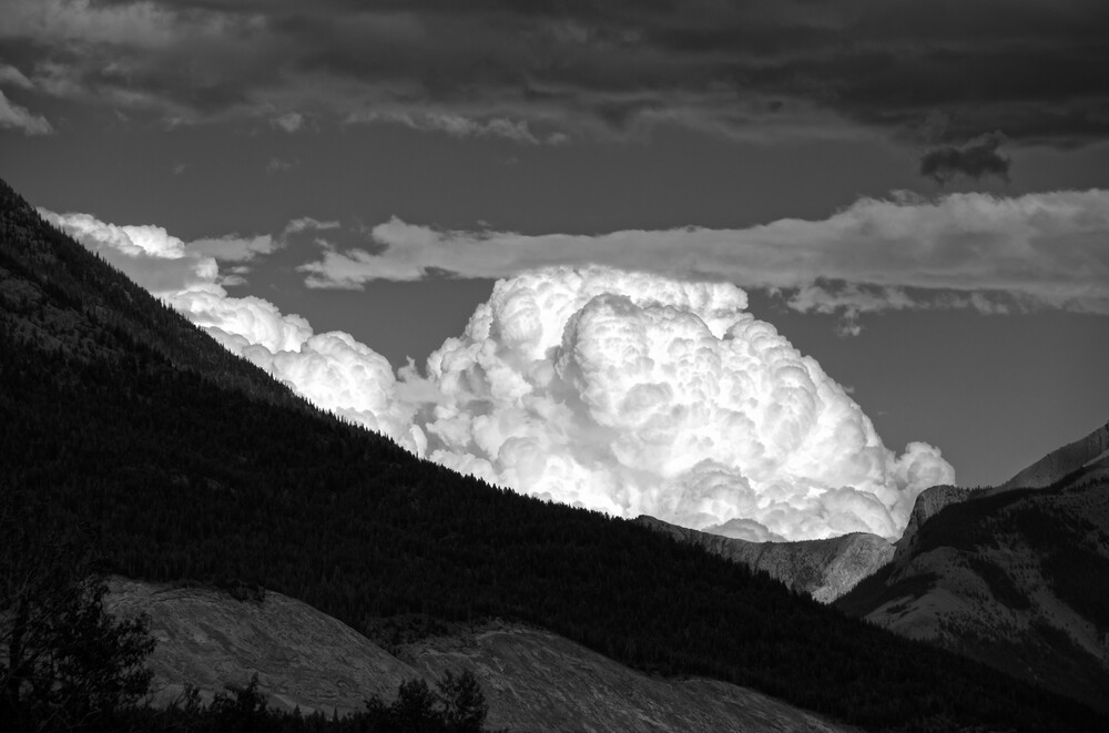 WTF cloud - fotokunst von Alexander Roe
