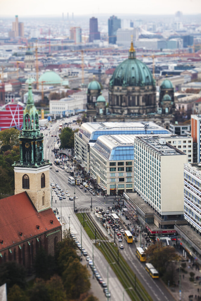 Little Berlin Photos of Berlin from above - Fineart photography by Yehuda Swed
