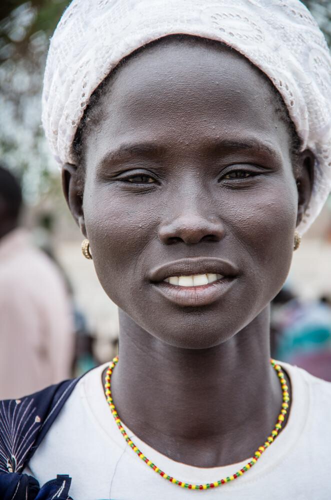 Sudanesische Schönheit - fotokunst von Ulrich Kleiner