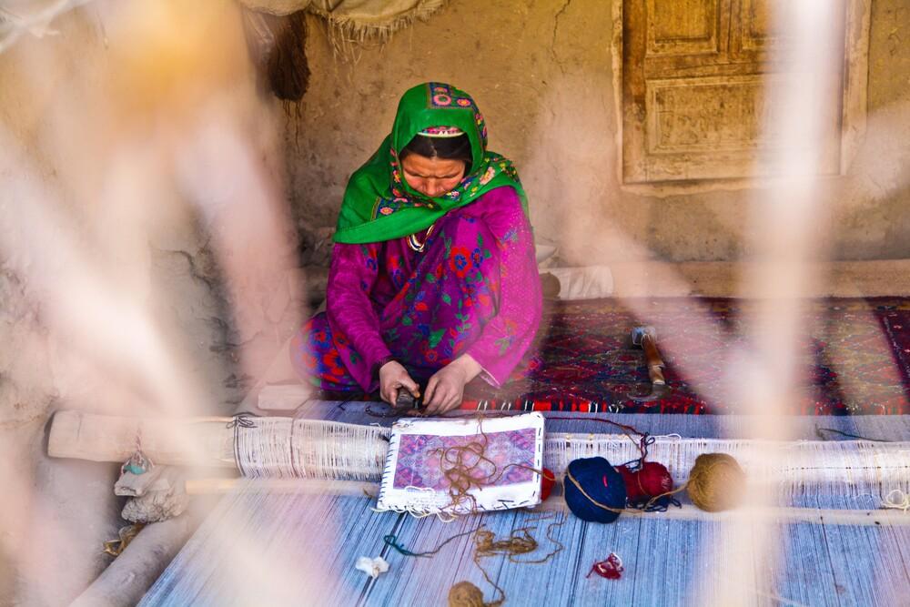 Carpet Weaving - Fineart photography by Rada Akbar
