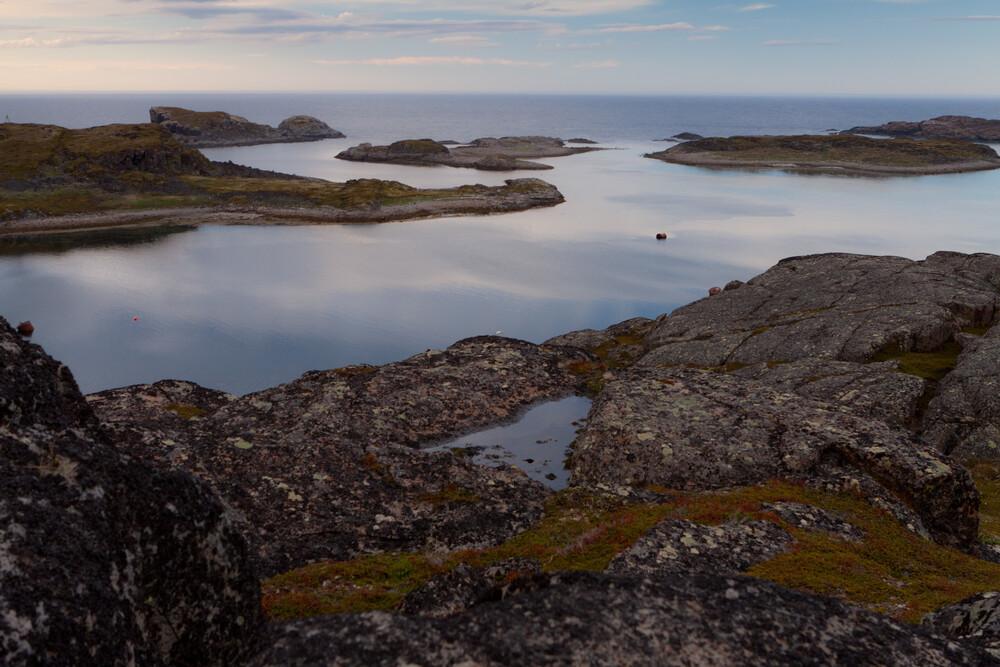 Night in the north - fotokunst von Natalia Rudenko