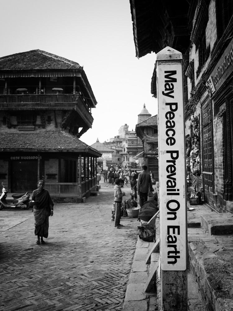 peace - fotokunst von Jagdev Singh