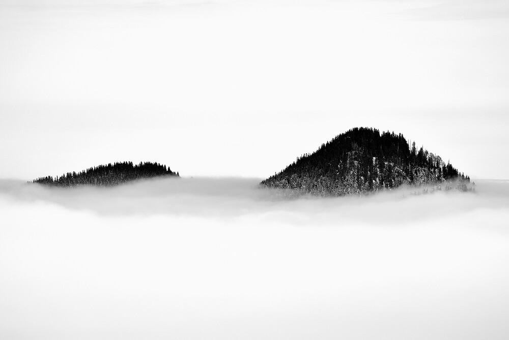 Über den Wolken - fotokunst von Sascha Hoffmann-Wacker