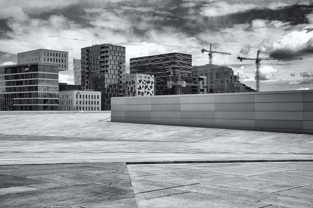 Stadtbild - fotokunst von Saskia Gaulke