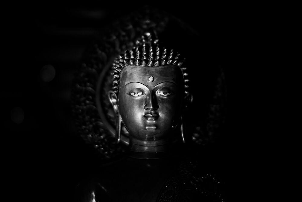 Buddha - fotokunst von Victoria Knobloch