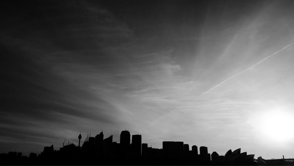 Sydney Skyline - fotokunst von Johannes Zakel