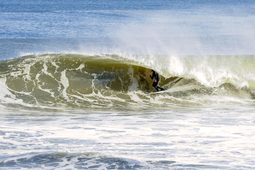 New Jersey Beach Barrel - fotokunst von Joanne O'Shaughnessy