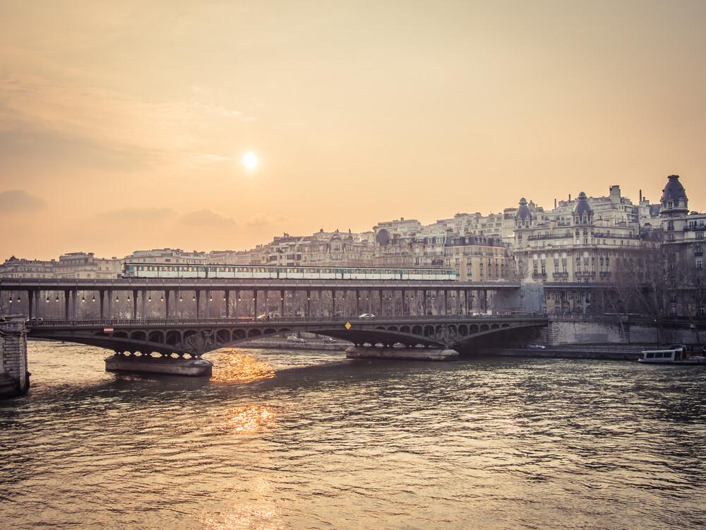 La Seine - fotokunst von Johann Oswald