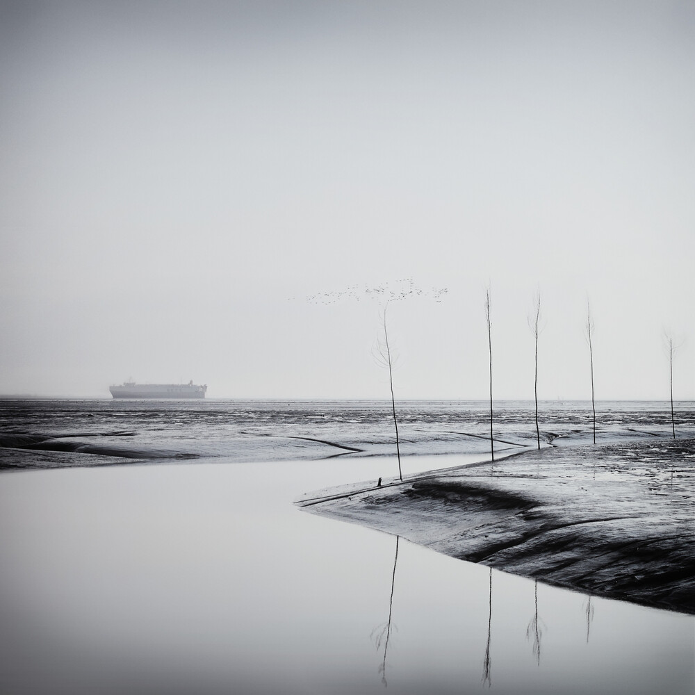 ein schiff - fotokunst von Manuela Deigert