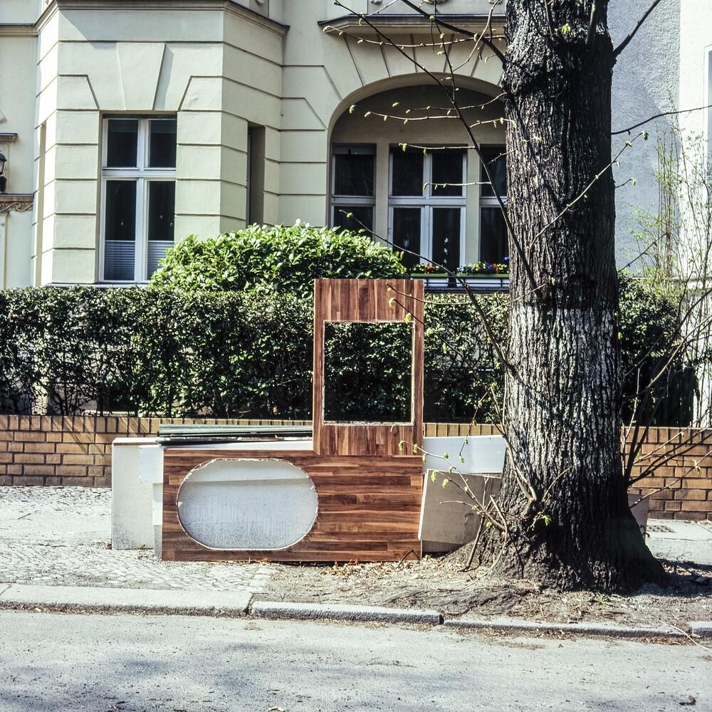 Stadt-Detail, Berlin-Steglitz - fotokunst von Jost Galle