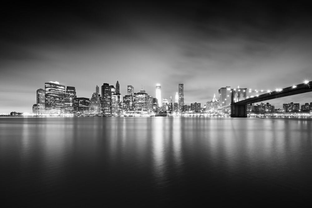 New York City Skyline - fotokunst von Alexander Voss