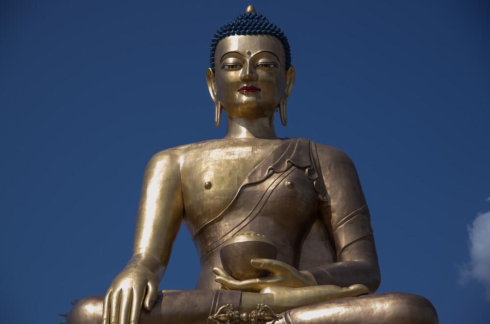 Buddha in Bhutan - Fineart photography by Guido Heering