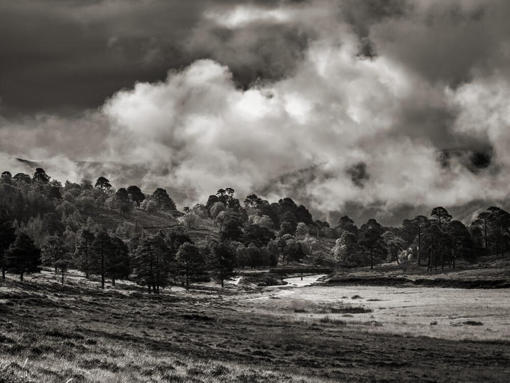 The Highlands - fotokunst von Jörg Faißt